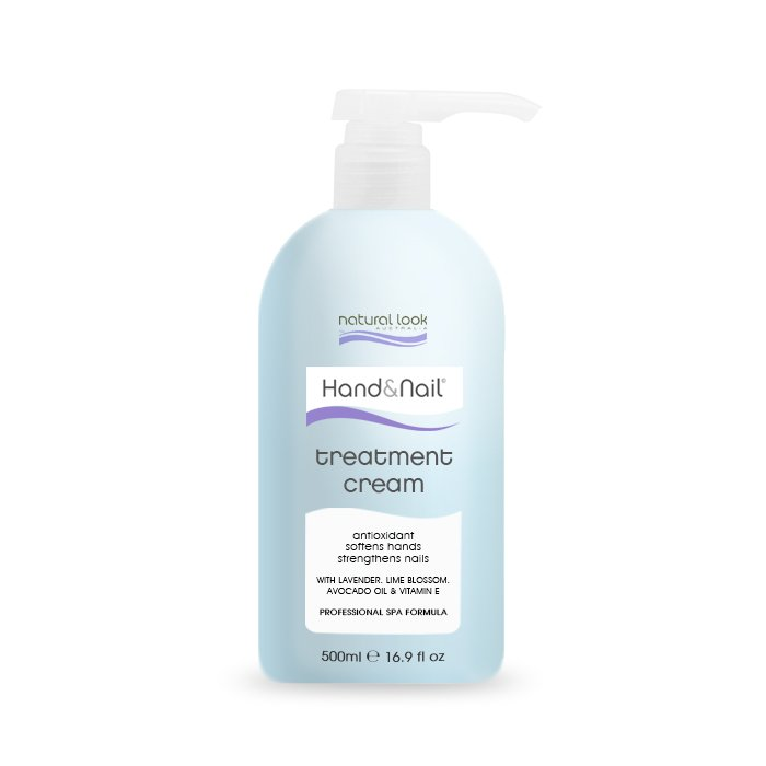 Natural Look Hand & Nail Treatment Cream 500ml