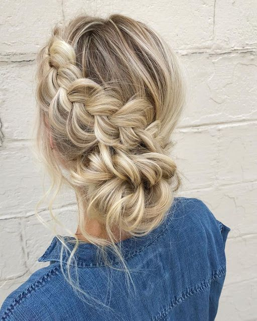 Loose French Braid Combo