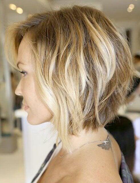 concave bob haircut