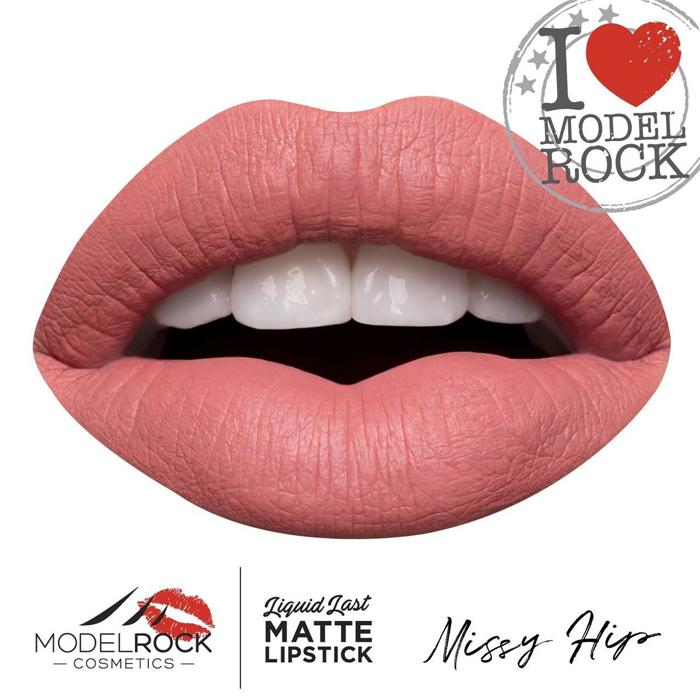 MODELROCK Liquid to Matte lipstck is a Long-wearing, ultra