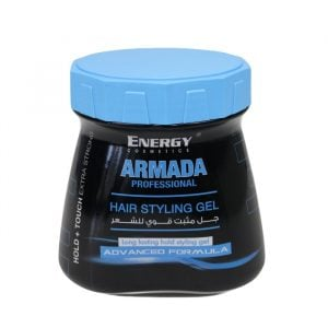 Energy Cosmetics Armada Professional Hair Styling Gel Extra Strong 1Ltr