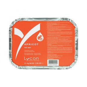 Lycon Hot Wax Apricot 1kg