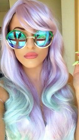 unicorn hair color
