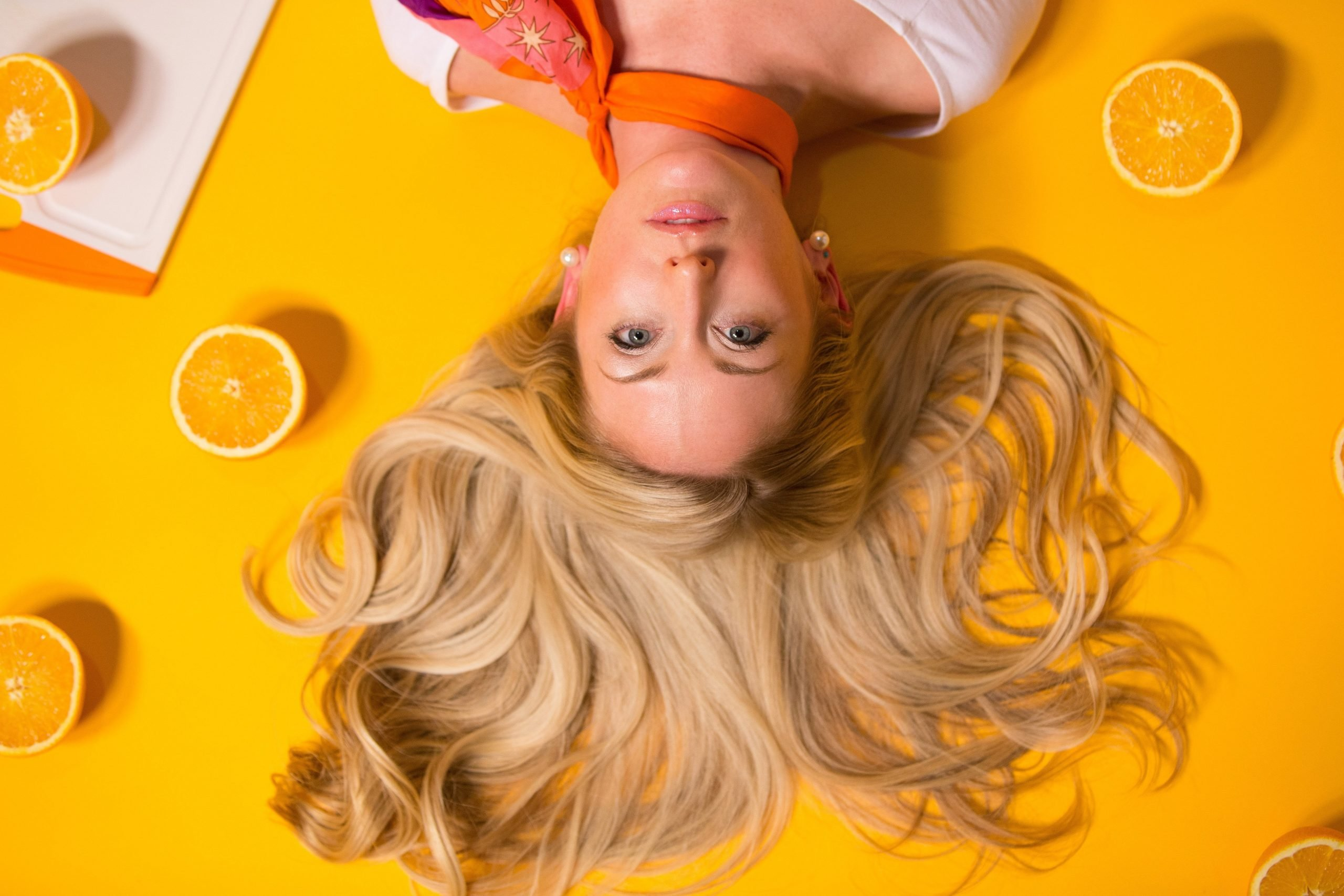 How to fix dry hair using organic products